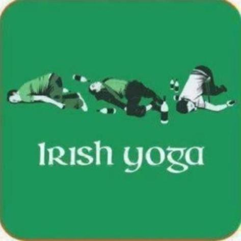 This Saint Patrick's Day, keep yourself fit with Irish Yoga!