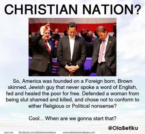 christian nation?