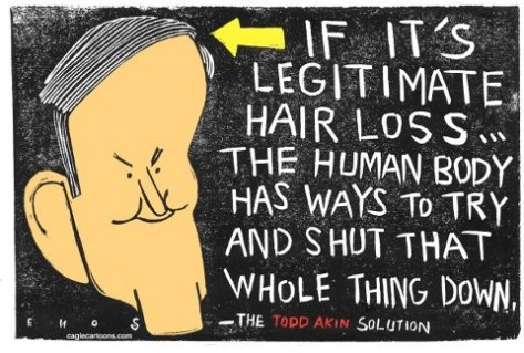 legitimate hair loss