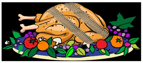 roadkill turkey
